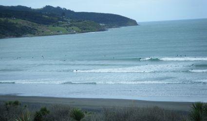 Ngaranui Beach yesterday